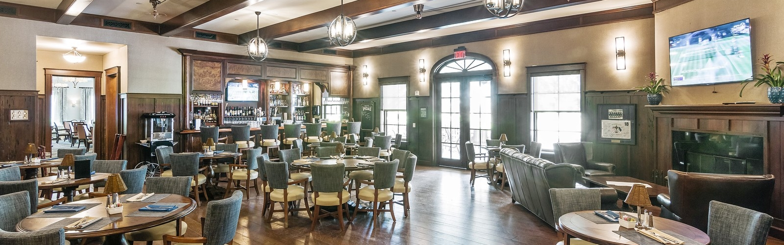 Grille Room Interior